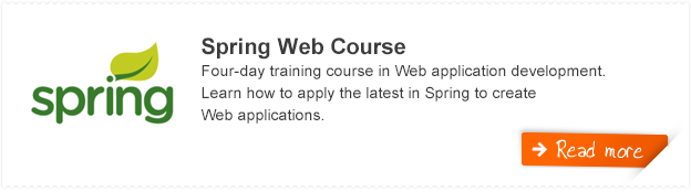 Spring Web Training